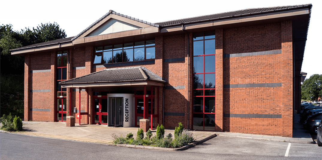 The Business Village @BarnsleyBIC Wilthorpe Buidling 1 Entrance to reception and office space barnsley