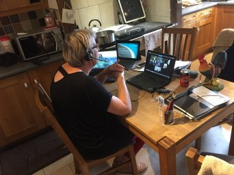 Maintaining employee wellbeing when working from home