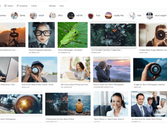 A quick guide to using stock photography in your business…