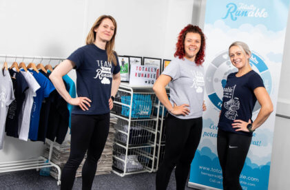 Totally Runable expands across the north from their Business Village HQ